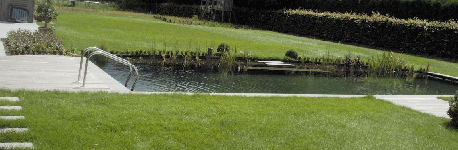 Totaalproject met zwemvijver